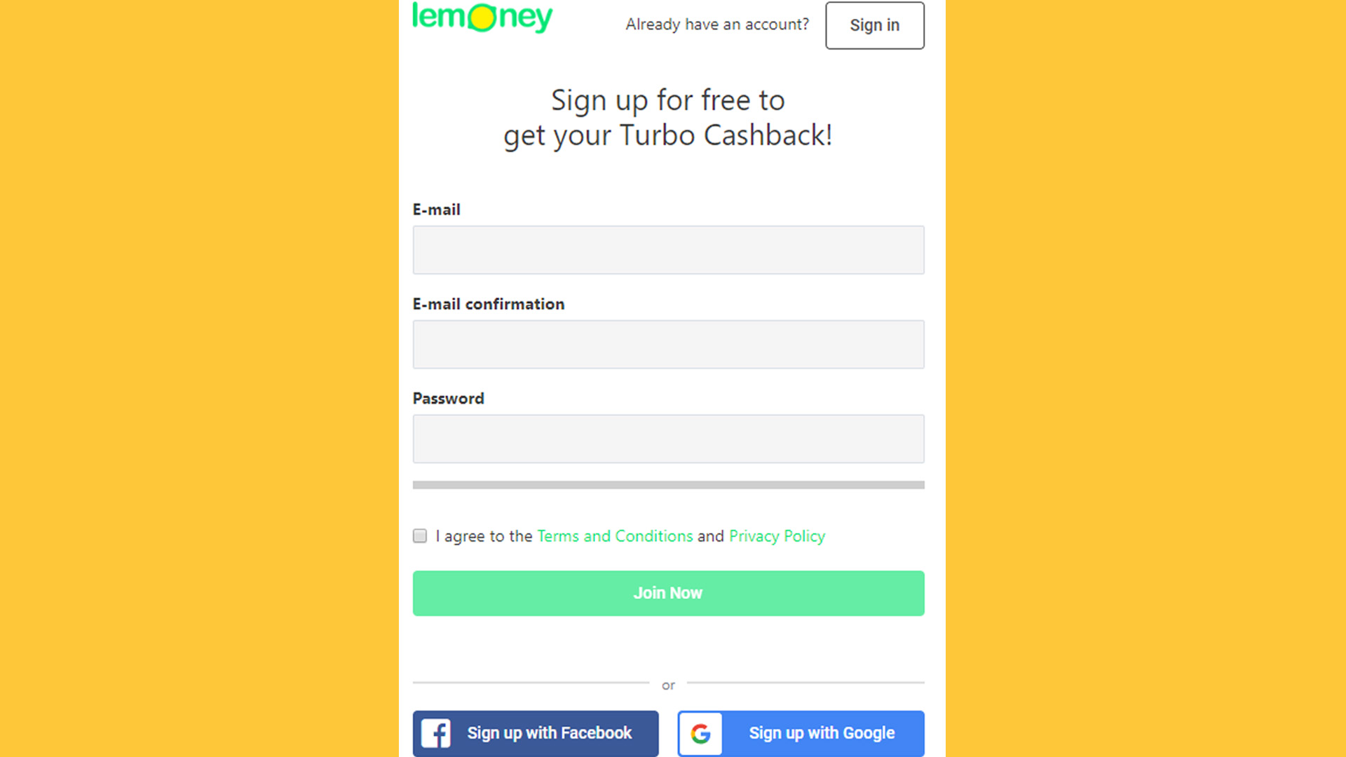 Subscribe To Lemoney And Be A One Step Close To The Highest Cashback Deals