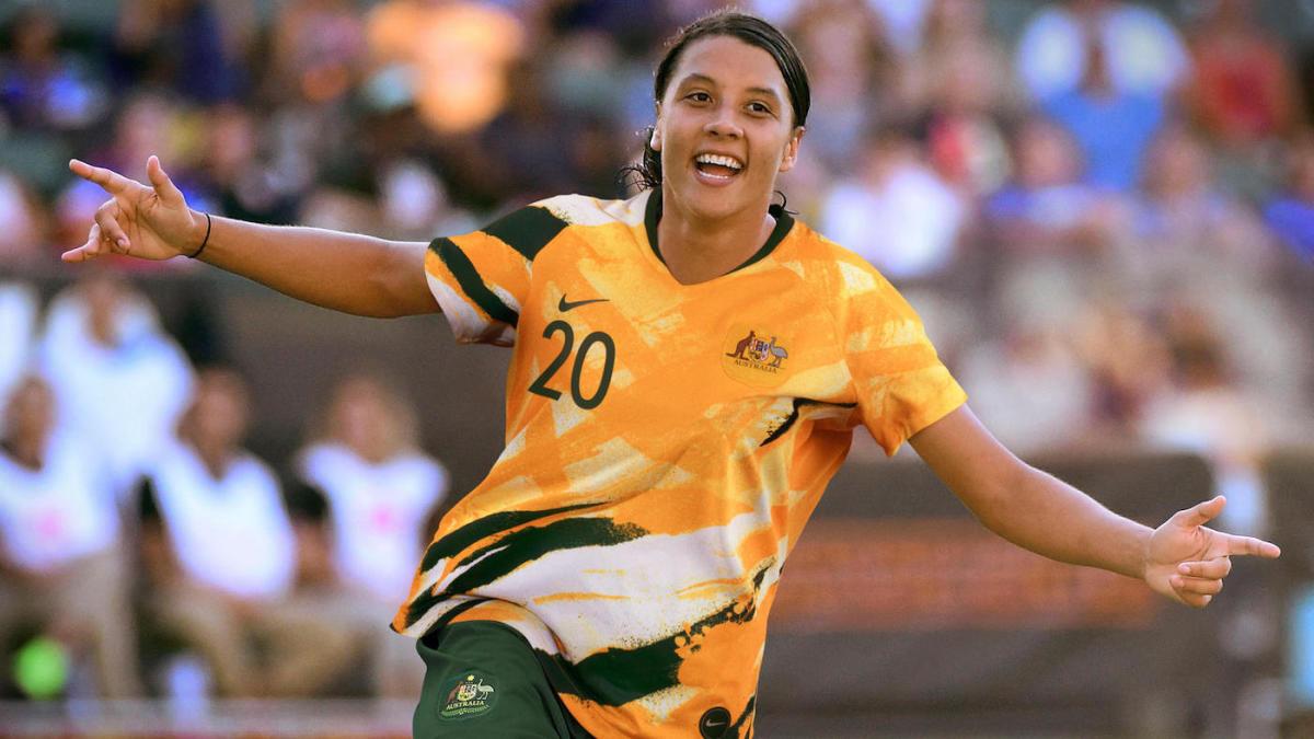 Women's World Cup 2019 Australia Home Kit