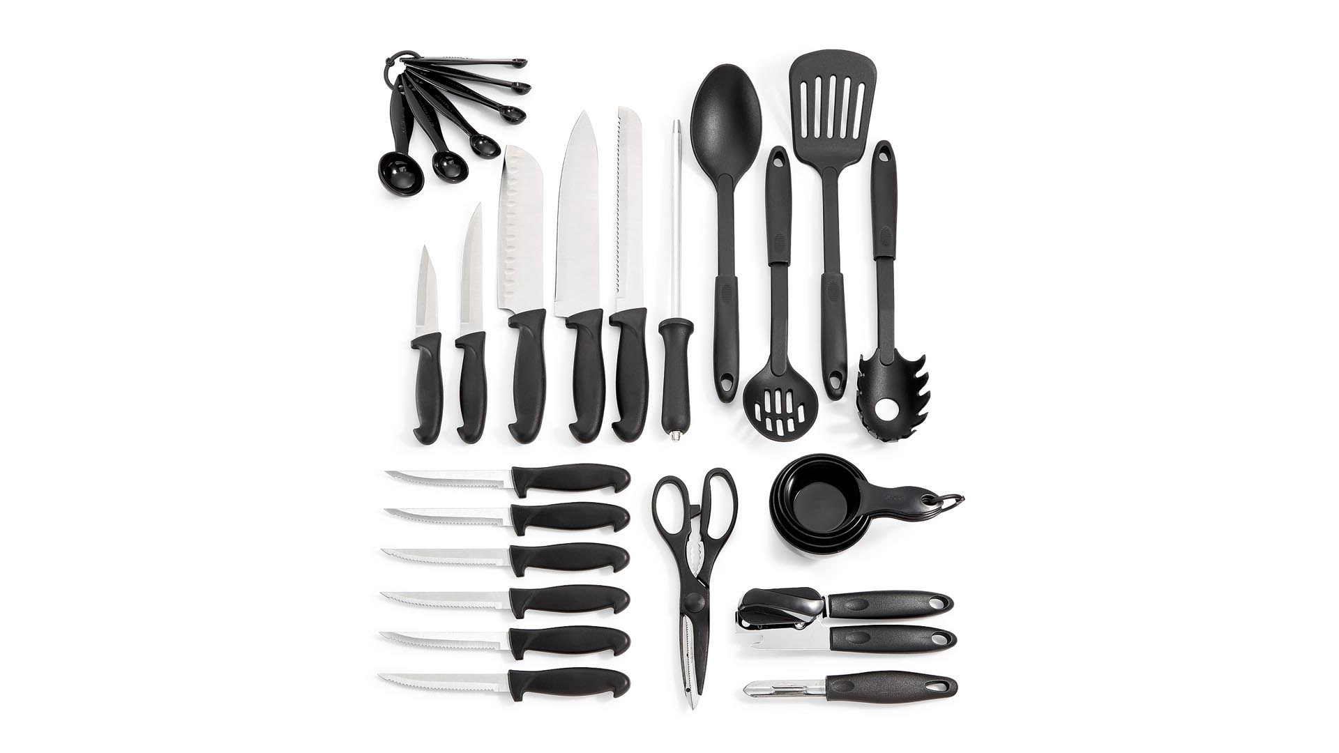 Father's Day Sale - Purchase Martha Stewart Essentials Cultery Set On Macy's Through Lemoney