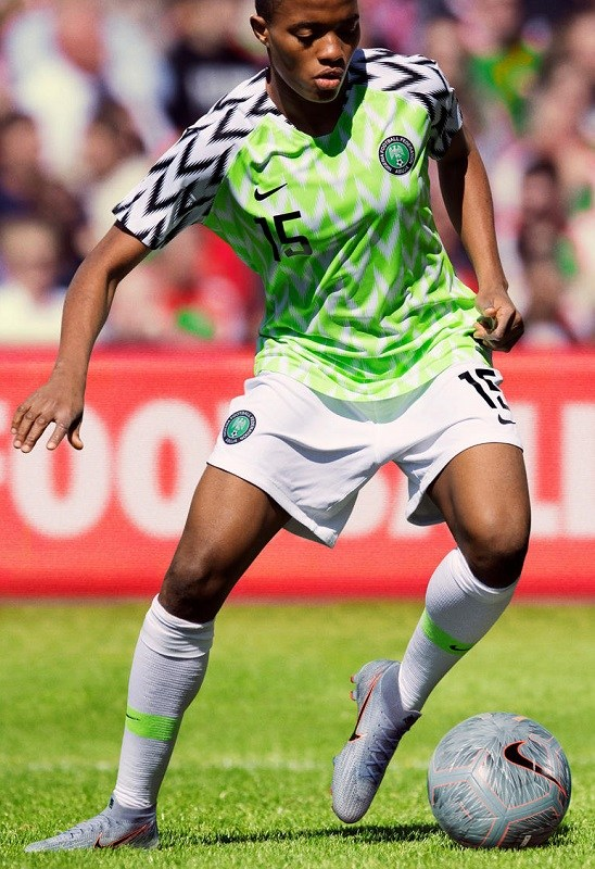 Women's World Cup 2019 Nigeria Home Kit