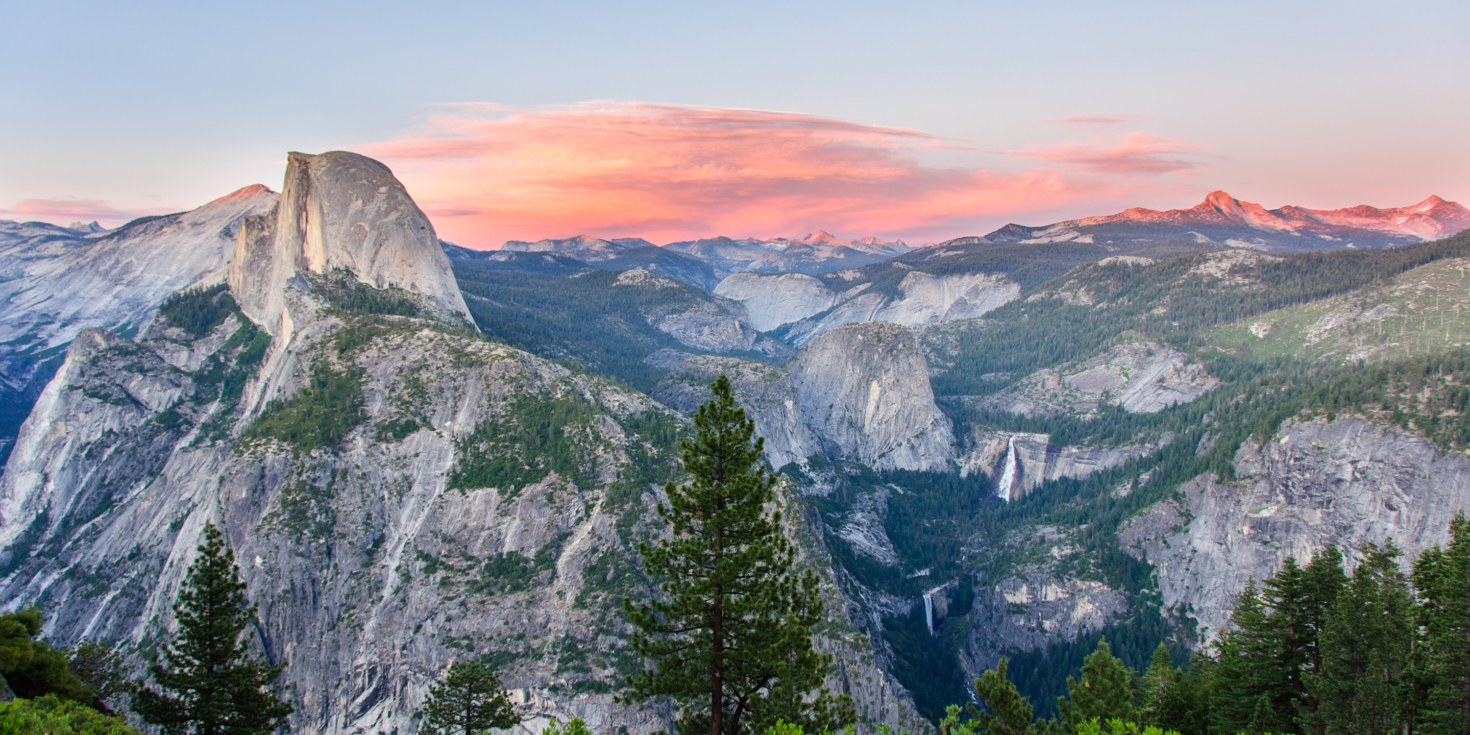 Summer In America - The Skies View At Yosemite