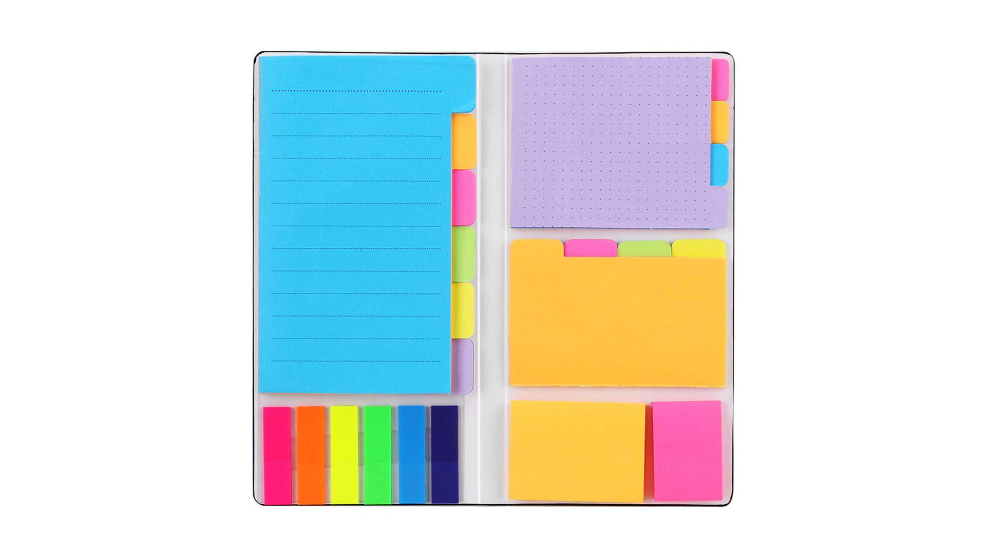 Sticky notes are a great way of organizing your school work