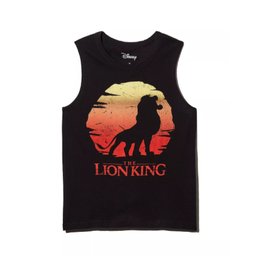 Incredible Lion King Editorial at Bloomingdale's CHASER x Disney The Lion King Tank