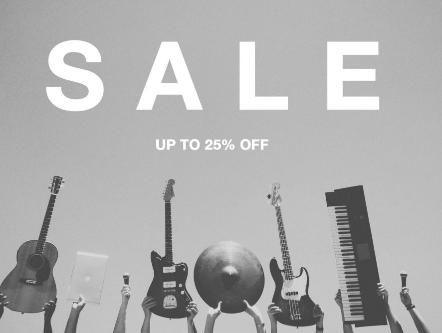 Guitar Center Gives UP TO 25% OFF On Top Branded Instruments