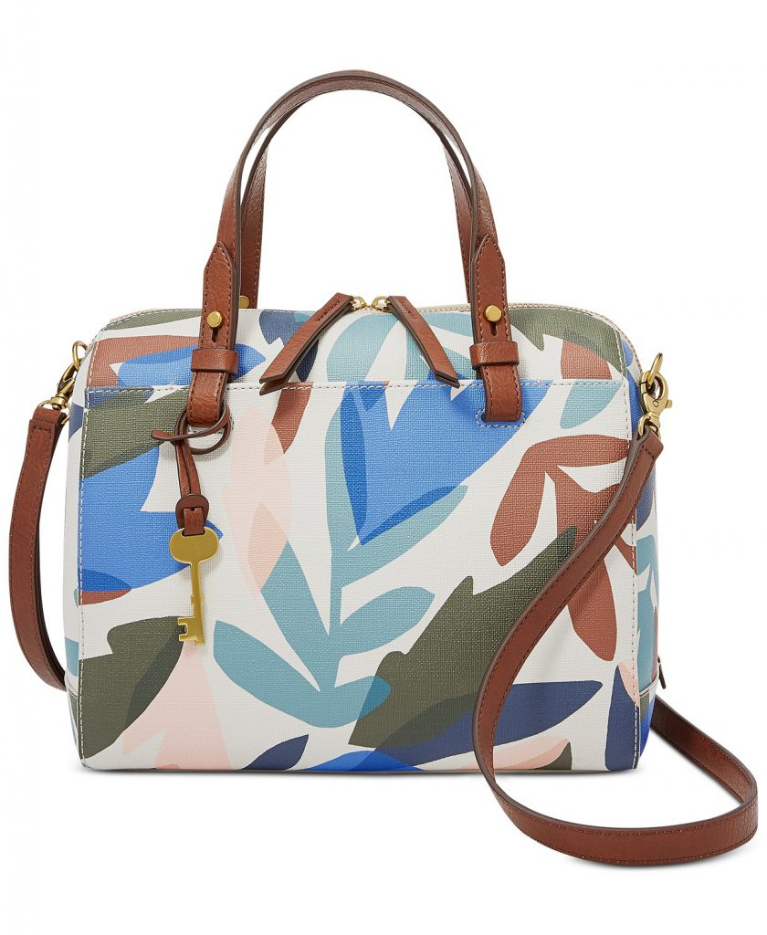 Macy's Bags Fossil