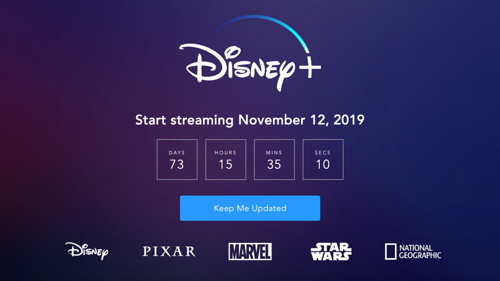 Disney+ is a streaming platform that will be launched on November 12 2019