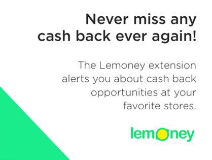 Lemoney Cash Back Extension Has The Fastest Way To Get Highest Cash Back
