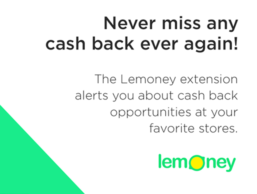 Lemoney Cash Back Extension Has The Fastest Way To Get Highest Cash Back