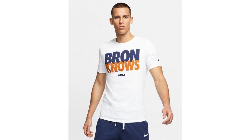Nike Basketball T-Shirts Sale - Bron Knows