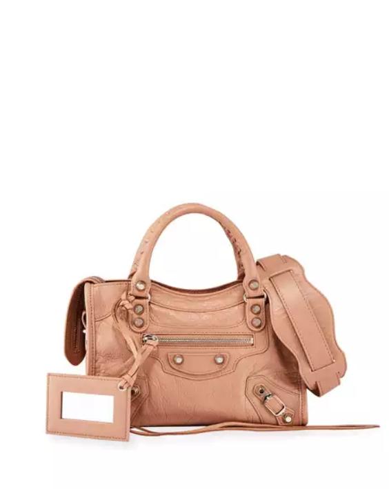 Classic Mini City Leather Bag