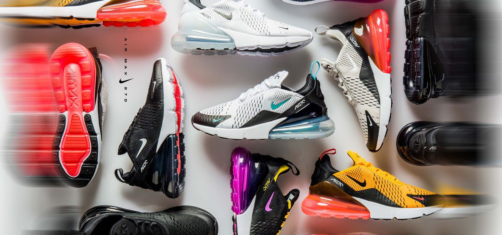 The Amazing Nike Air Max 270 Collection