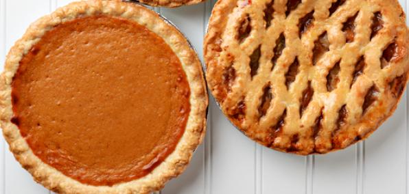 fall food ideas pies