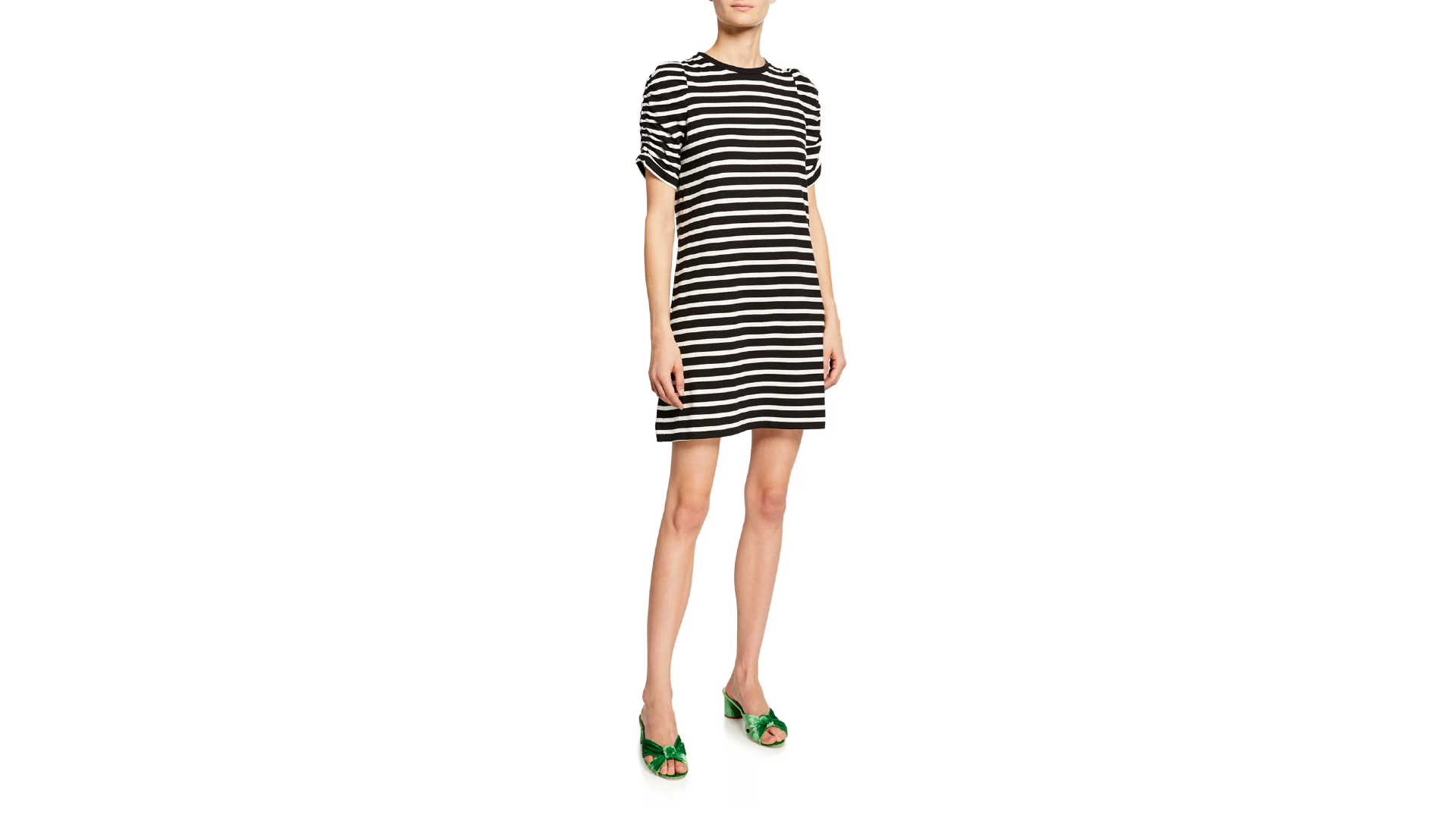 Kate Spade new york sailing striped short-sleeve dress