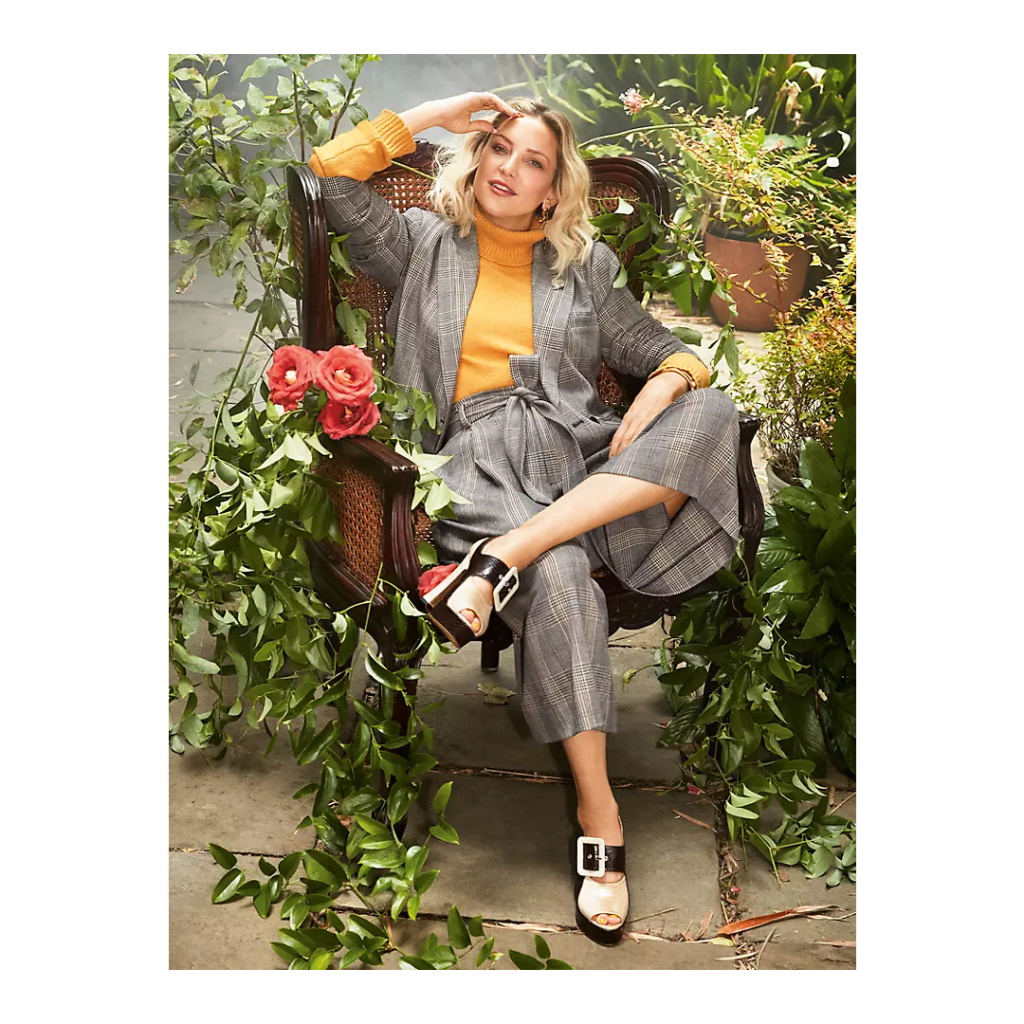 Happy Nature And Kate Hudson: Tempo Cropped Blazer