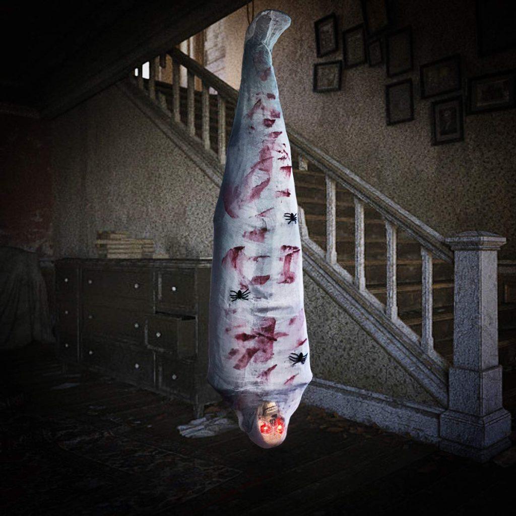 amazon halloween items hanging corpse