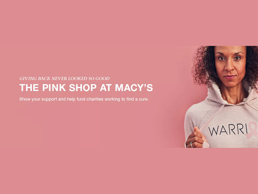 Macy's Pink Shop: 5 Amazing Items To Shop and Support Women's Breast Cancer Awareness
