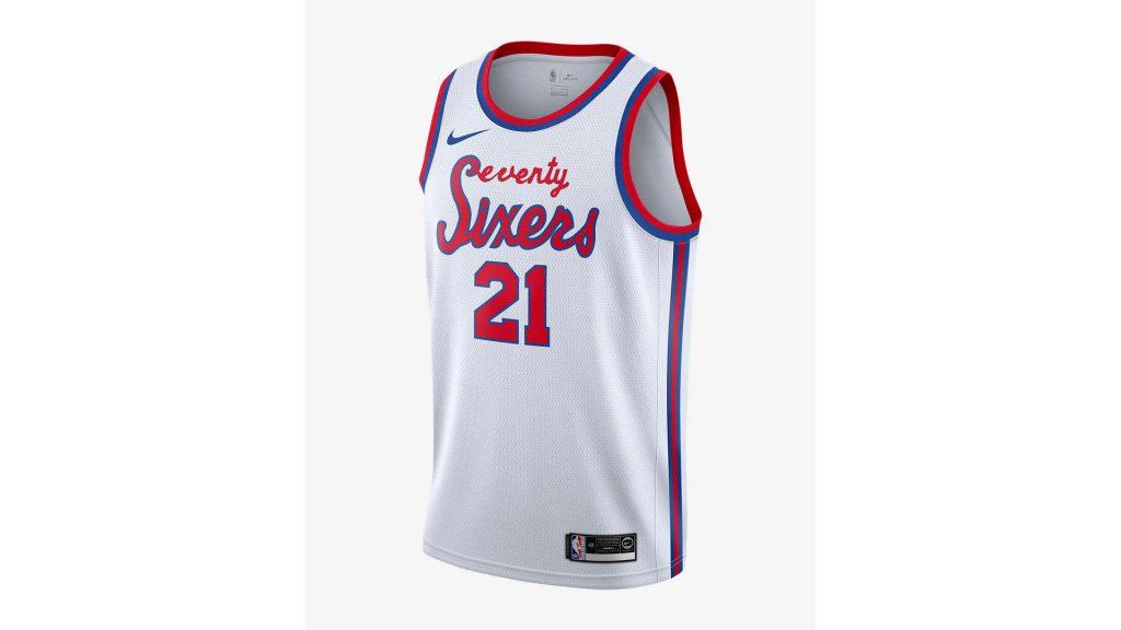 Buy NBA Jerseys With Cash Back - Joel Embiid