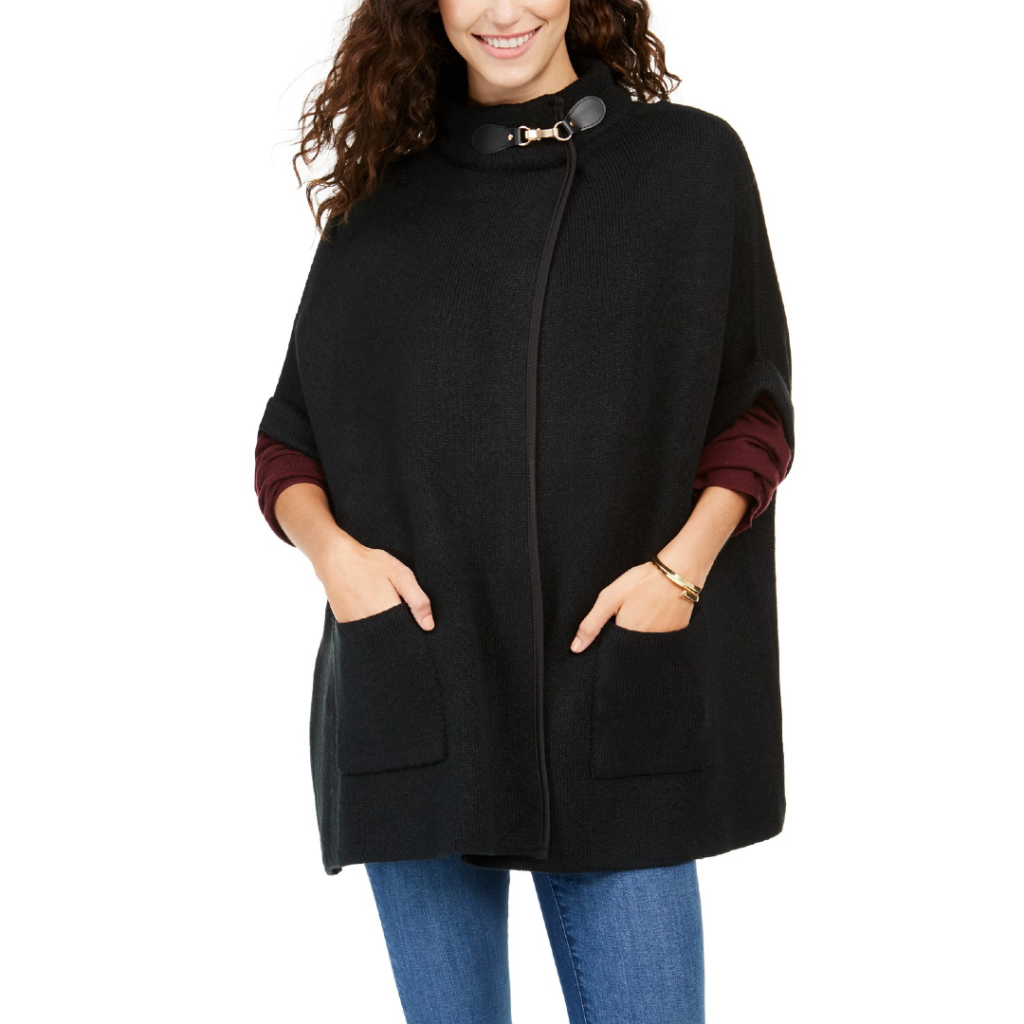 macy's fall coupons Cejon Solid Riding Cape