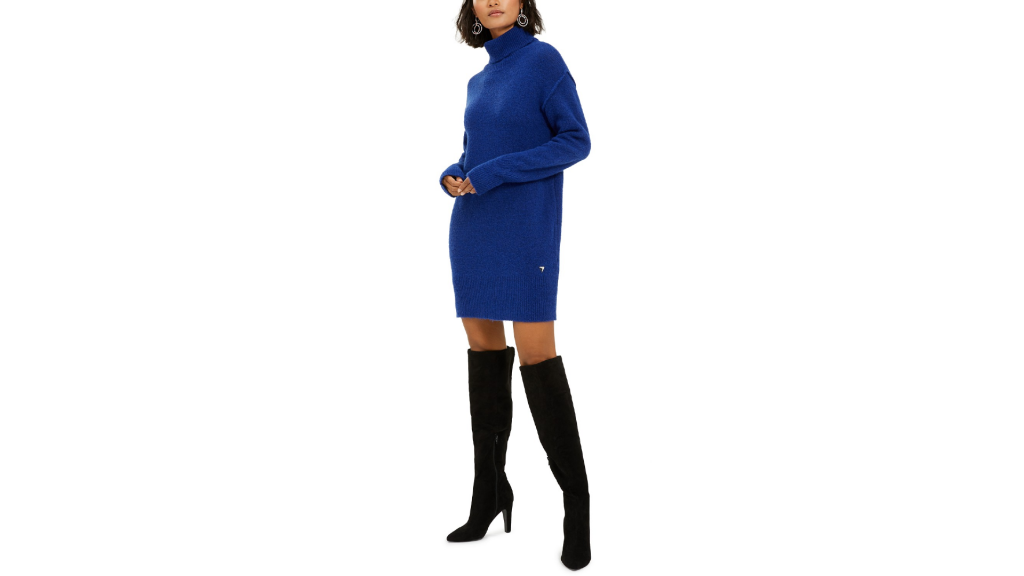 Macy's Sale: GUESS Turtleneck Sweater Dress