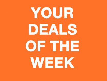 Your Deals Of The Week Are Waiting For You Right Now