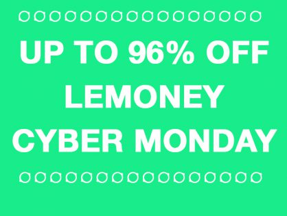 Best Cyber Monday Deals With Cash Back UP TO 96% OFF