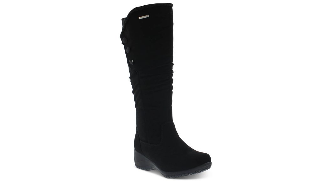 Macy's After Christmas Sale With UP TO 80% OFF - Khmobu Women's Rose Button Trim Boots