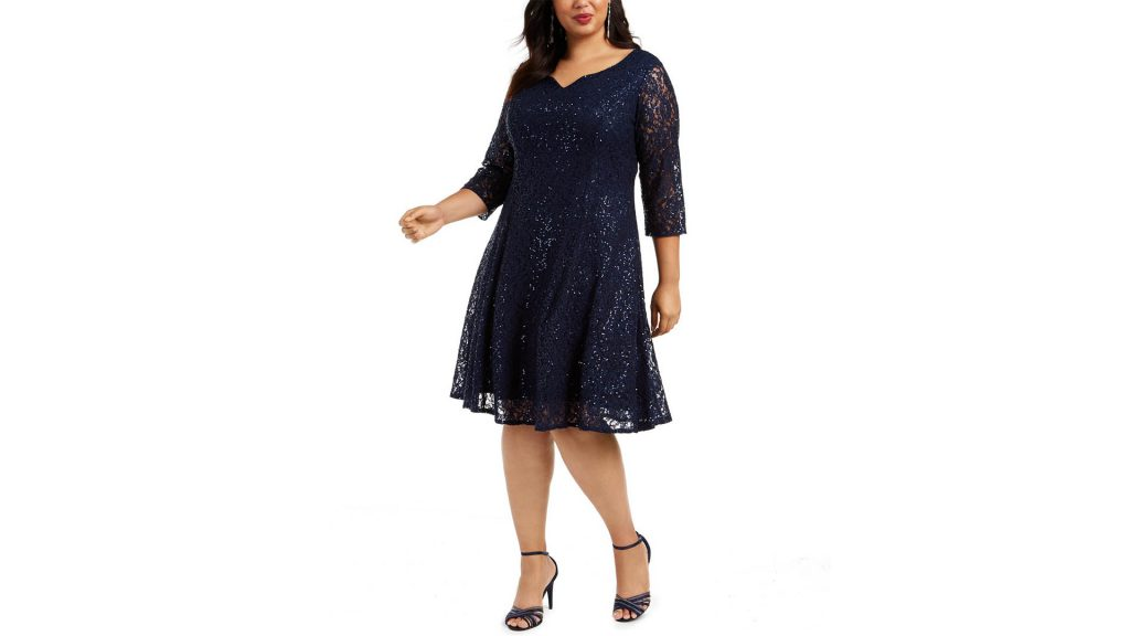 Macy's After Christmas Sale With UP TO 80% OFF - SL Fashions Plus Size Dress