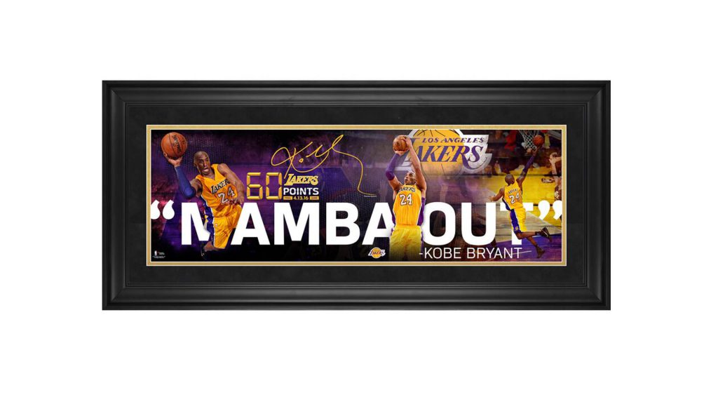 Kobe Bryant is forever! Check out some of remarkable collectible jerseys and items that made history of one of the greatest of all time!
