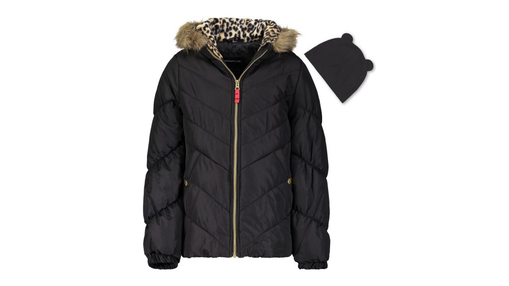 Macy's Clearance Sale With UP TO 70% OFF + Cash Back - Buy This Weathertamer Big Girls Hooded Puffer Jacket With Faux Fur Trim Hat And Get Macy's Cash Back