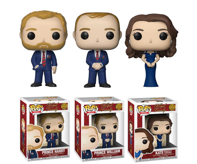 Get Vinyl Figure Versions Of The Duke And Duchess of Sussex And Other Royal Members