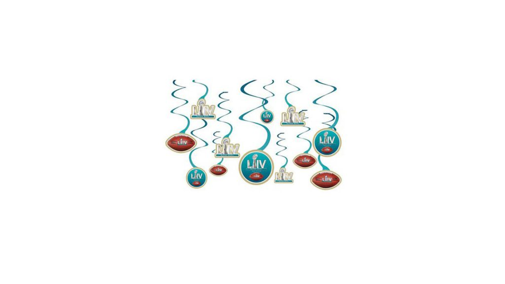 Super Bowl LIV Party - Buy Super Bowl LIV Danglers At Walmart And Get UP TO 16% Walmart Cash Back