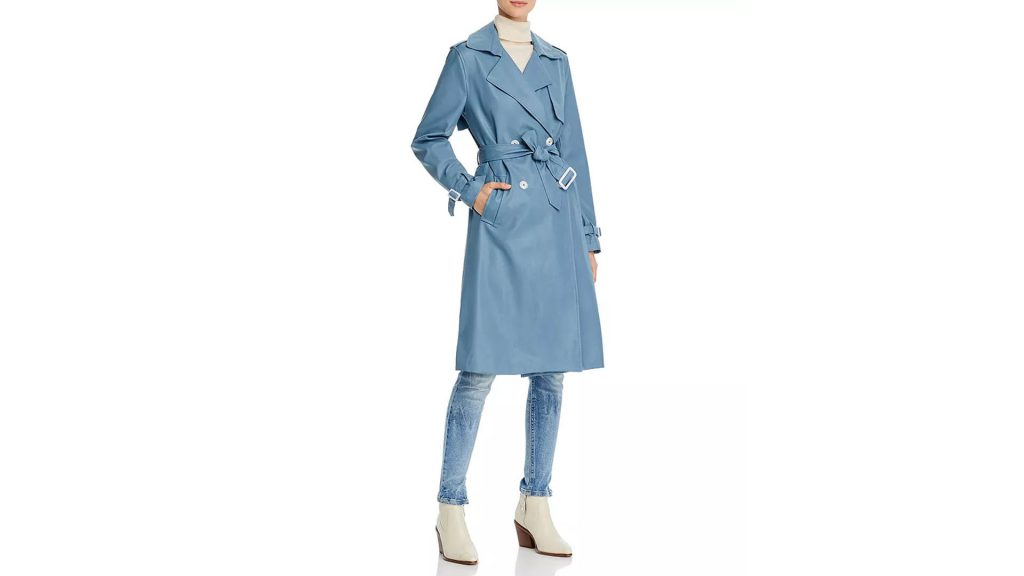 Bloomingdale's Spring Trends Coupon - Get UP TO 15% Bloomingdale's Cash Back by buying Apparis Lucia Faux Leather Trench Coat
