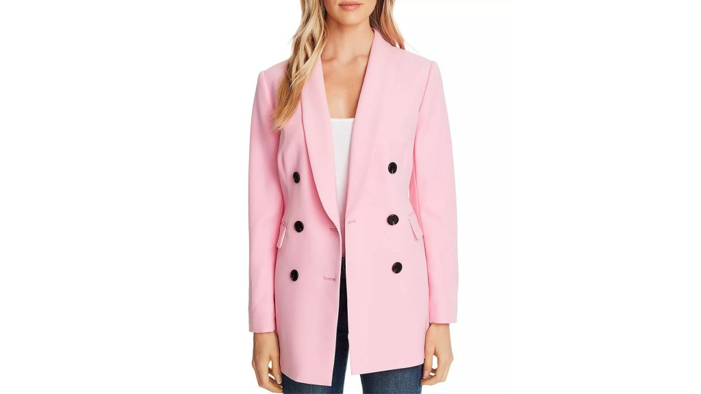 Bloomingdale's Spring Trends Coupon - Get UP TO 15% Bloomingdale's Cash Back by buying CeCe Twill Double-Breasted Jacket
