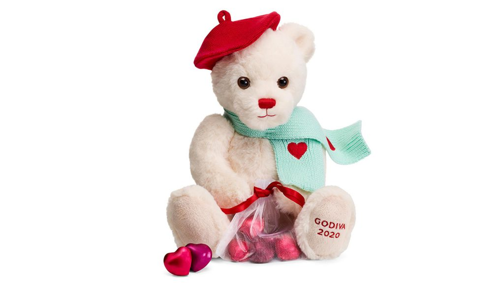 Macy's Valentine's Day Gifts Under $50 + UP TO 16% Macy's Cash BackGodiva Valentine's Day Plush Bear with Foil Hearts