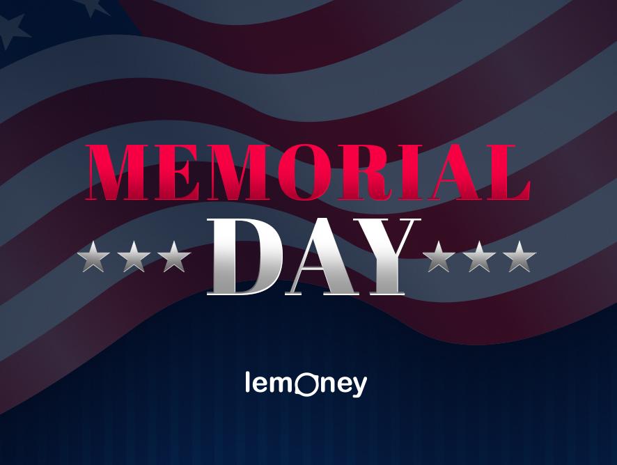 Memorial Day Sale At Lemoney! Get UP TO 70% OFF + Cash Back
