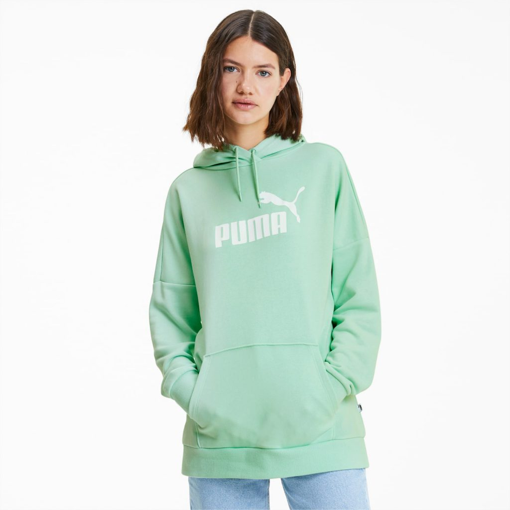 puma private sale elongated hoodie