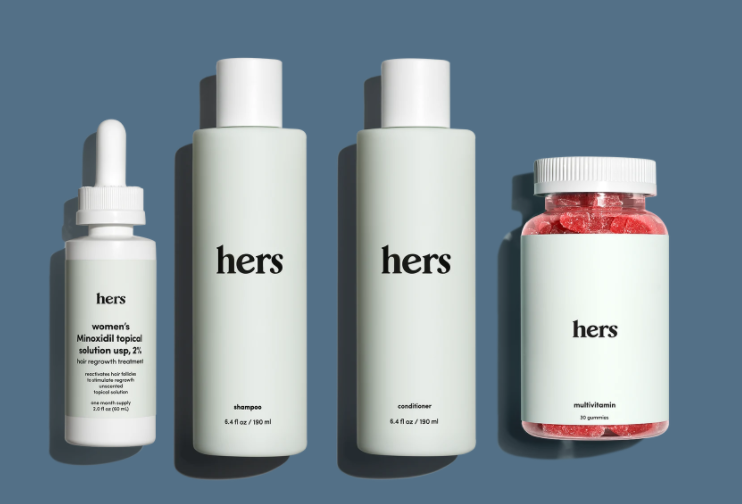 hers provides treatmeant kit products